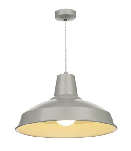 Reclamation Pendant Powder Grey/White inner REC0139 (7-10 day Delivery) (Class 2 Double Insulated)
